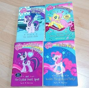 My Little Pony Chapter Books With Activity Pages